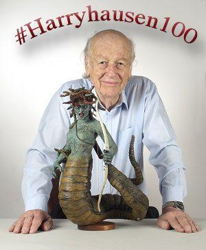 Ray Harryhausen Medusa #Harryhausen100
