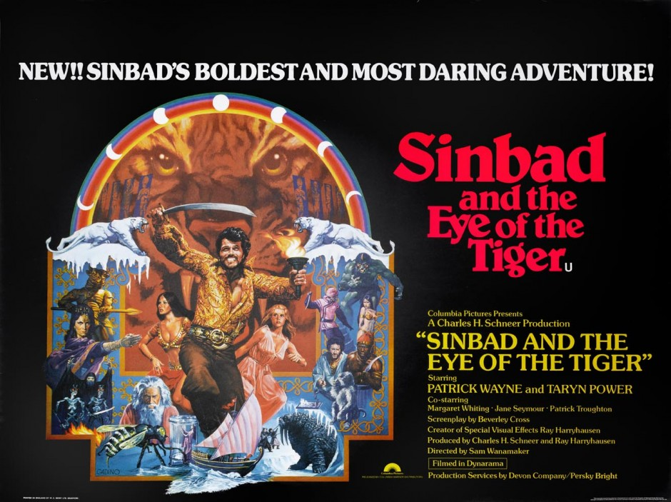SINBAD AND THE EYE OF THE TIGER BRITISH QUAD £150-£200