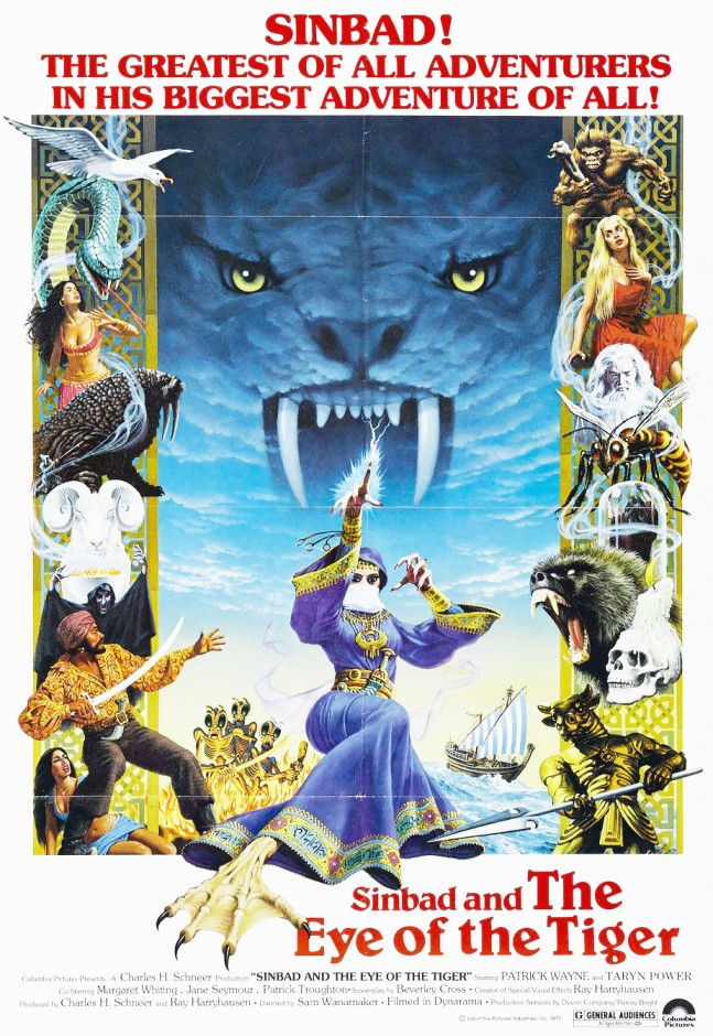 Sinbad And The Eye Of The Tiger (1977) Original